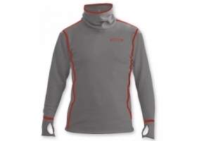 Vision Power Hoodie Top Grey