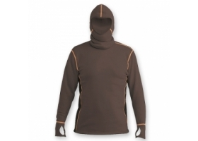 Vision Power Hoodie Brown