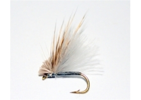 Grey CDC Hair Caddis