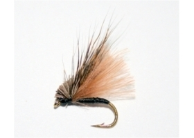 Brown CDC Hair Caddis