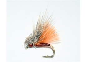 Rusty CDC Hair Caddis