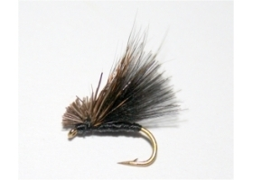 Black CDC Hair Caddis