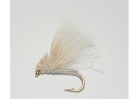 White CDC Hair Caddis