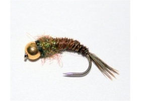 GH Tungsten Olive Flash Pheasant Tail