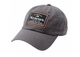 Simms Single Haul Cap - Gunmetal