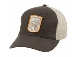 Simms Patch Trucker Cap - Catch and Release Bark