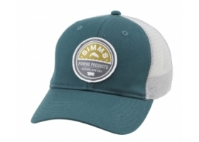 Simms Patch Trucker Cap - Vintage Trout Juniper