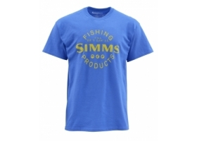 Simms Buy Local Cobalt T-shirt