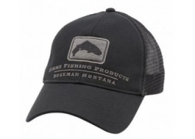 Simms Trout Trucker Cap - Black
