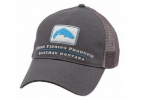 Simms Trout Trucker Cap - Anvil