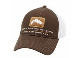 Simms Trout Trucker Cap - Bark