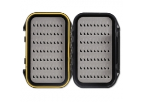 Taimen ABS Waterproof Pocket Fly Box EG Black