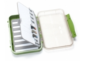 C&F Design CF-25778CT  Pudełko Medium 7-Row Waterproof Fly Case with Flip Page and Threaders