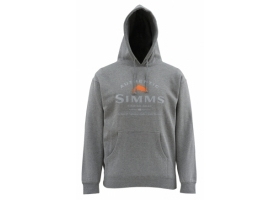 Simms Badge of Authenticity Hoody Gunmetal