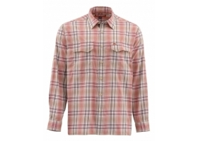 Koszula Simms Legend Shirt Dark Coral Plaid