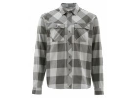 Koszula Simms Heavy Weight Flannel Shirt Boulder Plaid