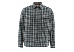 Koszula Simms Coldweather Shirt Black Plaid