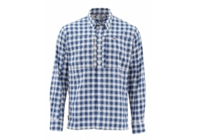 Koszula Simms Bugstopper Shirt LS Admiral Blue Plaid