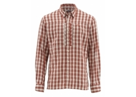 Koszula Simms Bugstopper Shirt LS Rusty Red Plaid