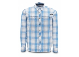 Koszula Simms Stone Cold Shirt Cornflower Plaid