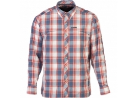 Koszula Simms Stone Cold Shirt Indigo Plaid