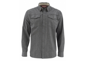 Koszula Simms Stillwater Shirt Chambray Charcoal