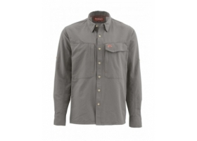 Koszula Simms Guide Shirt Solid Pewter