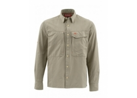Koszula Simms Guide Shirt Solid Dark Khaki