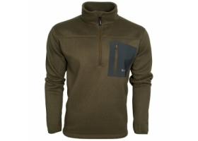 Taimen Polartec Thermal Pro Half Zip Sweater Ivy Green