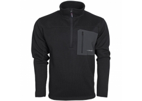 Taimen Polartec Thermal Pro Half Zip Sweater Black