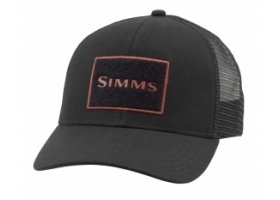 Simms High Crown Trucker Cap - Black