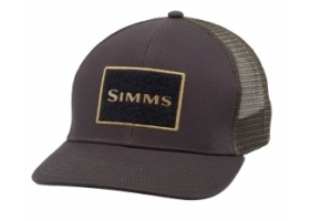 Simms High Crown Trucker Cap - Bark