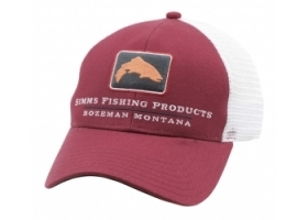 Simms Trout Icon Trucker - Rusty Red