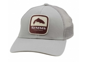 Simms Trout Patch Trucker - Boulder