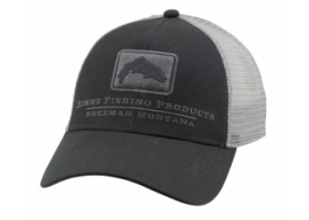 Simms Trout Icon Trucker - Black