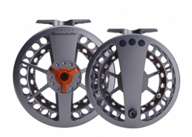 Kołowrotek Lamson Speedster HD Grey/Orange