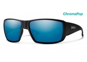 Okulary Polaryzacyjne Smith Optics Guide Choice Matte Black Polar Blue Mirror ChromaPop szklane