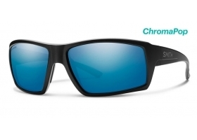 Okulary Polaryzacyjne Smith Optics Challis Matte Black Polar Blue Mirror ChromaPop szklane