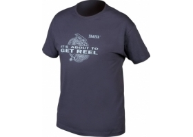 T-Shirt Traper Reel Navy