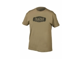 T-Shirt Traper Logo Green