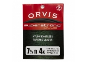 Przypon Koniczny Orvis Super Strong Plus Knotless Leaders - dwupak 7,5ft