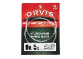 Przypon Koniczny Orvis Super Strong Plus Knotless Leaders - dwupak 9ft