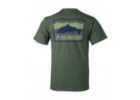 Sage On The Water Tee - Olive Green