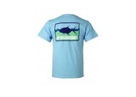 Sage On The Water Tee - Tropic Blue