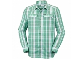 Columbia Silver Ridge 2.0 Plaid L/S Shirt CopperOrePlai