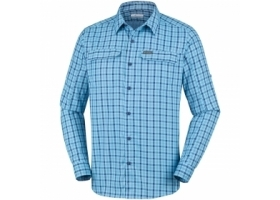 Columbia Silver Ridge 2.0 Plaid L/S Shirt CollegiateNavy