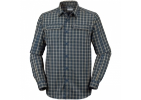 Columbia Silver Ridge 2.0 Plaid L/S Shirt CarbonGingham