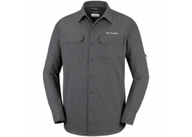 Columbia Silver Ridge II Long Sleeve Shirt Grill