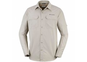 Columbia Silver Ridge II Long Sleeve Shirt Fossil