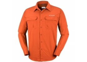 Columbia Silver Ridge II Long Sleeve Shirt Desert Sun